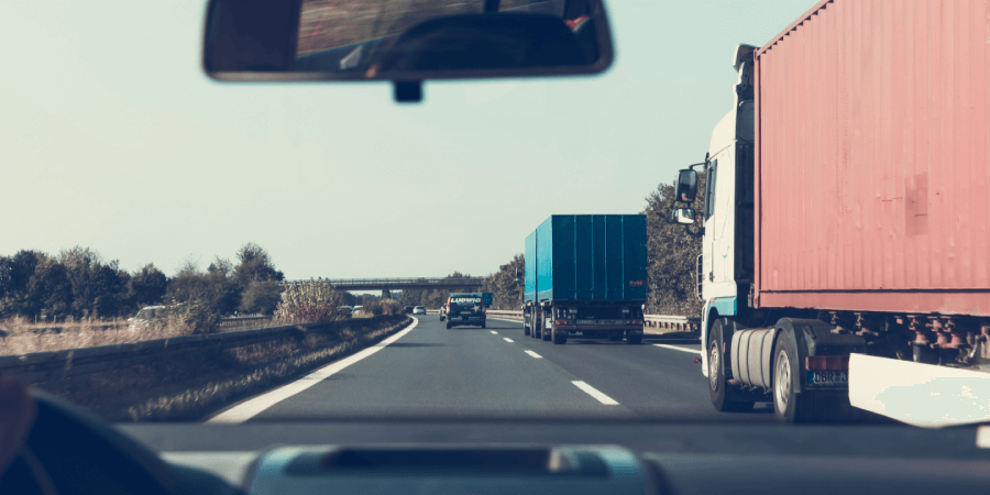 Contrata un abogado para accidente de camiones