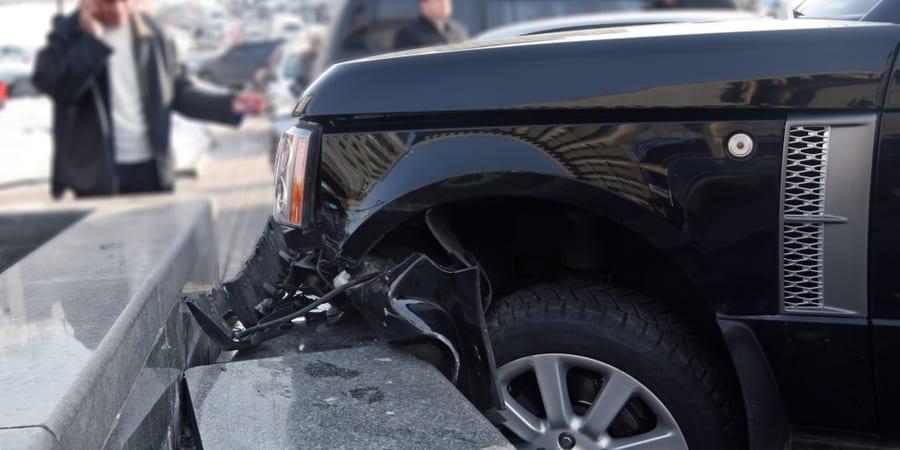 choque de coche negligencia