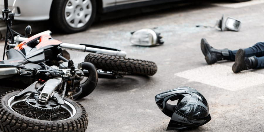 Alto riesgo de accidente de moto en Houston