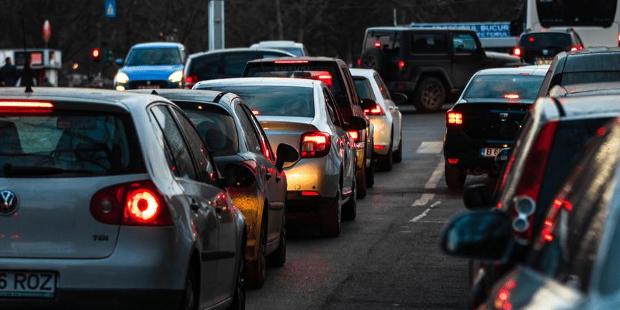 trafico accidente de auto houston